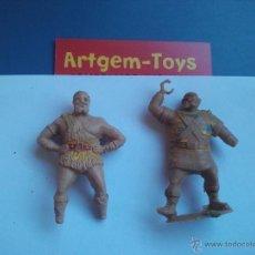 Figuras de Goma y PVC: DOS MUÑECOS DE STEREOPLAST CAPITAN TRUNEO. Lote 40966415