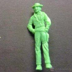 Figuras de Goma y PVC: PIN PINS DE PLASTICO PIPAS CHURRUCA PERSONAJE DEL OESTE. Lote 40971973