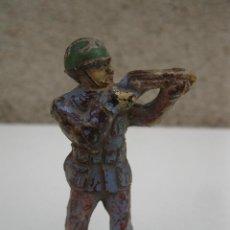 Figuras de Goma y PVC: ANTIGUO SOLDADO DE GOMA - JECSAN - AÑOS 50.. Lote 40988405