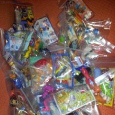 Figuras Kinder: GRAN LOTE DE 100 FIGURAS HUEVOS KINDER. Lote 40995268