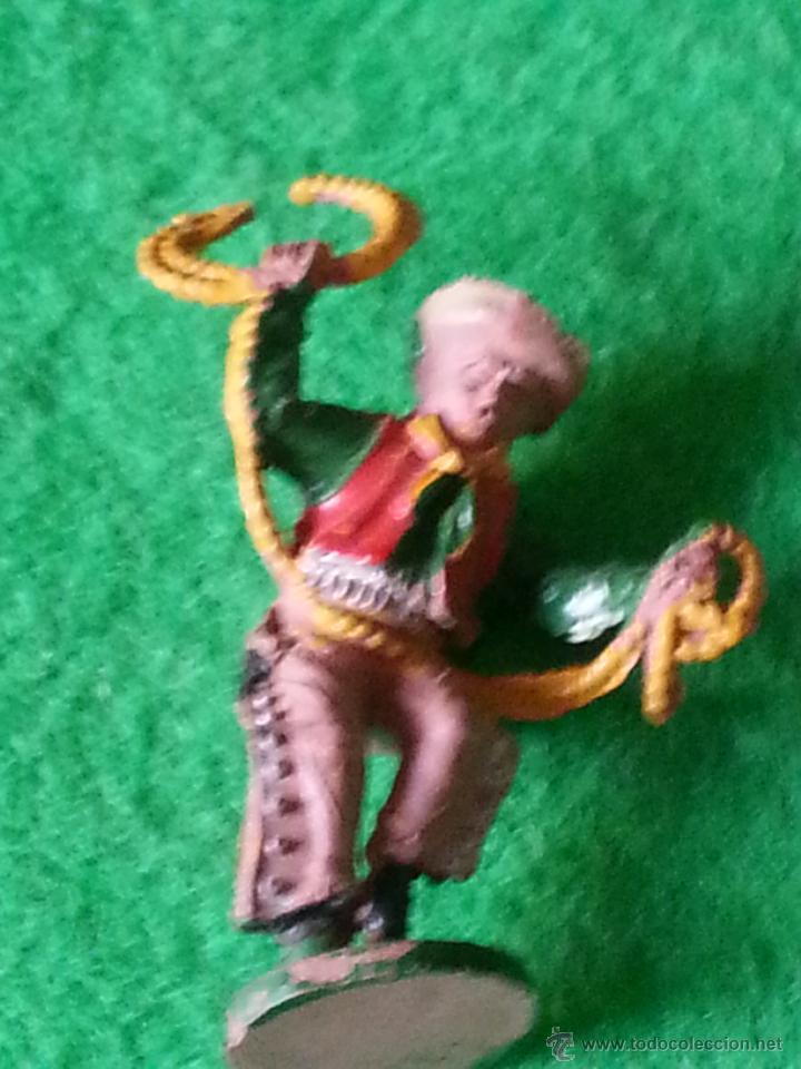 FIGURA DE VAQUERO DE LAFREDO EN GOMA (Juguetes - Figuras de Goma y Pvc - Lafredo)