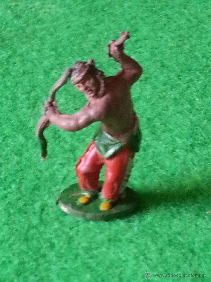 Figuras de Goma y PVC: FIGURA INDIO DE LAFREDO EN GOMA - Foto 2 - 40996181