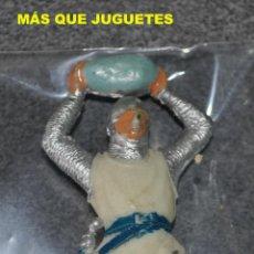 Figuras de Goma y PVC: FIGURA SOLDADO MEDIEVAL DE JECSAN. Lote 41031494