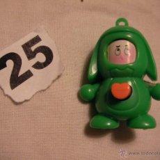 Figuras de Goma y PVC: MUÑECO CON CORAZON QUE LE CAMBIA LA CARA - ENVIO GRATIS A ESPAÑA . Lote 115342648