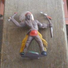 Figuras de Goma y PVC: FIGURA EN GOMA DE INDIO DE LURAVE. Lote 41102176