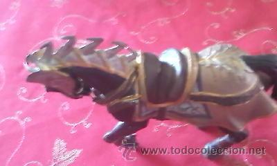 Figuras de Goma y PVC: Precioso caballo con armadura medieval de BULLY . PVC - Foto 3 - 41243933