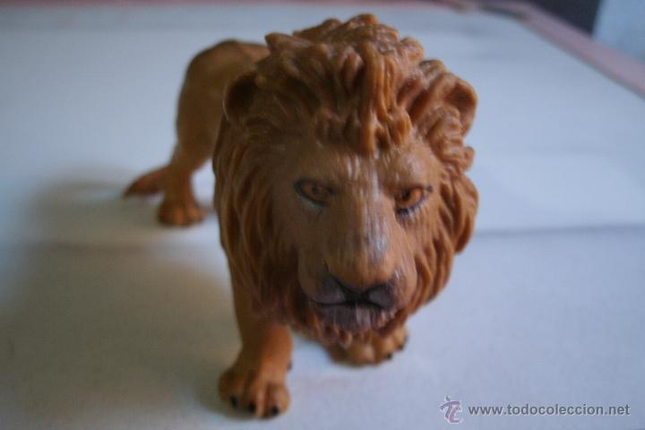 Figuras de Goma y PVC: FIGURA LEON SCHLEICH EN PVC - BUEN ESTADO - - Foto 2 - 41332085