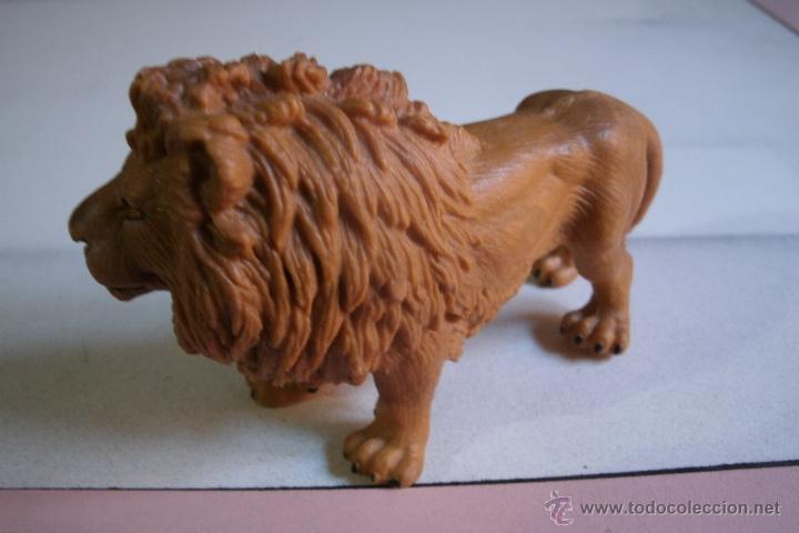 Figuras de Goma y PVC: FIGURA LEON SCHLEICH EN PVC - BUEN ESTADO - - Foto 4 - 41332085