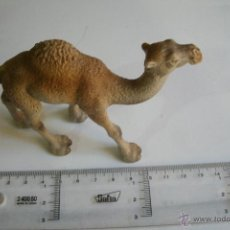 Figuras de Goma y PVC: FIGURA DE CAMELLO O DROMEDARIO MARCA SCHLEICH - GERMANY - EN PVC -. Lote 41332427