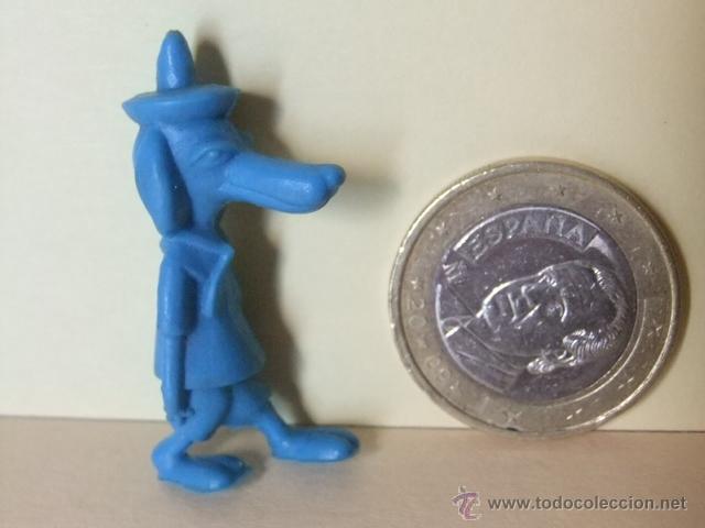 FIGURA DE PLASTICO DE 1968 DUNKIN - LENTO RODRIGUEZ (Juguetes - Figuras de Goma y Pvc - Dunkin)