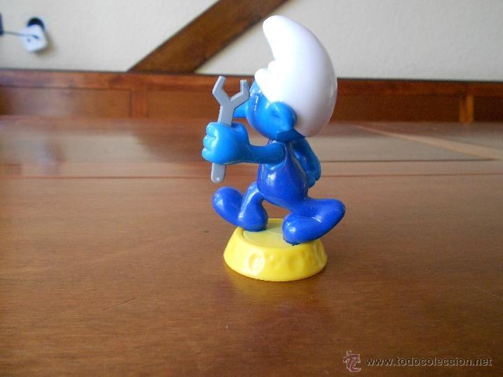 Figuras de Goma y PVC: PITUFO MECÁNICO, BIP HOLLAND - Foto 3 - 41357442