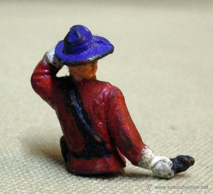 Figuras de Goma y PVC: TORSO FIGURA DE GOMA, POLICIA MONTADA CANADA, FABRICADO POR GAMA, PARA FIGURA DE 5,5 cm. - Foto 2 - 41375696
