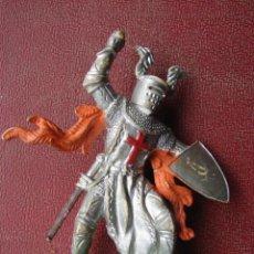 Figuras de Goma y PVC: CRUZADO CON MAZA Y ESCUDO - BRITAINS. Lote 41467064