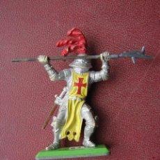 Figure di Gomma e PVC: CRUZADO CON LANZA - BRITAINS. Lote 41467158