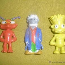 Figuras de Goma y PVC: LOTE DE 3 FIGURAS PVC DE LOS LUNIS - RTVE - YOLANDA 2004.. Lote 41478115