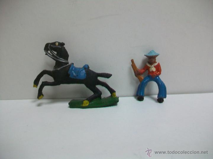 FIGURA ANTIGUA EN GOMA ALCA CAPELL - MODELO PECH (Juguetes - Figuras de Goma y Pvc - Capell)