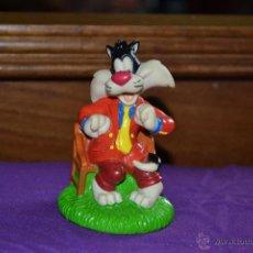 Figuras de Goma y PVC: FIGURA DE SILVESTRE EN PVC DE WARNER BROS, AÑO 1998. Lote 41729906