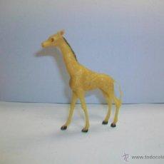 Figuras de Goma y PVC: FIGURA JIRAFA EN PLASTICO - ZOO PECH - AFRICA JECSAN . Lote 41731684