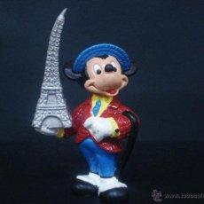 Figuras de Goma y PVC: FIGURA O MUÑECO GOMA PVC MICKEY TURISTA -DISNEY - BULLY. Lote 41746550