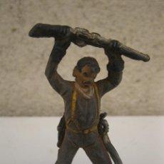 Figuras de Goma y PVC: ANTIGUO SOLDADO NORDISTA DE GOMA - JECSAN - AÑOS 50.. Lote 41805159