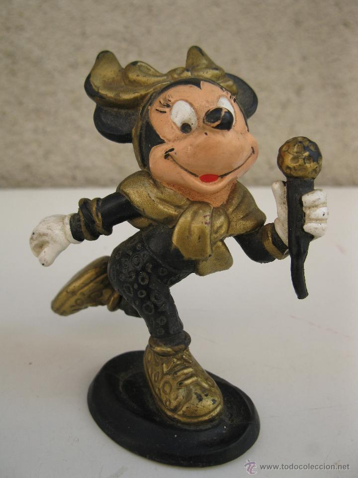 MINNIE MOUSE ROCK STAR - FIGURA DE PVC - WALT DISNEY - BULLY. (Juguetes - Figuras de Goma y Pvc - Bully)