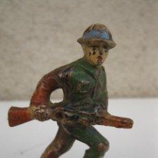 Figuras de Goma y PVC: ANTIGUO SOLDADO DE GOMA - JECSAN - AÑOS 50.. Lote 42244214