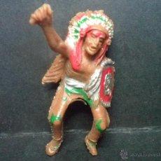 Figuras de Goma y PVC: GUERRERO INDIO DE LAFREDO. Lote 42372641
