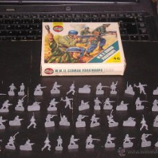Figuras de Goma y PVC: AIRFIX 1/72 H0 : CAJA PARACAIDISTAS ALEMANES.2ª GUERRA MUNDIAL.SOLDADOS ORIGINALES AÑOS 70.PTOY. Lote 42374661