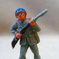Figuras de Goma y PVC: SOLDADO CASCOS AZULES JECSAN. Lote 42475383