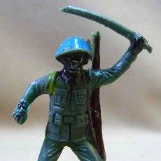 Figuras de Goma y PVC: SOLDADO CASCOS AZULES JECSAN. Lote 42475412