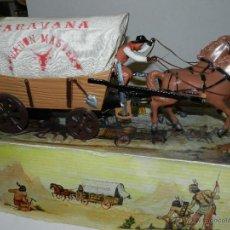 Figuras de Goma y PVC: (M) CARAVANA MARCA VICMA CON CAJA , 47 X 14 CM, VER FOTOGRAFIAS ADICIONALES. Lote 42525416