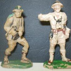 Figuras de Goma y PVC: LOTE 2 FIGURAS DE GOMA SOLDADO INGLÉS 8º EJERCITO. Lote 42532279