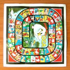 Figuras de Goma y PVC: MONTAPLEX - CURIOSO CARTÓN CON EL JUEGO DE LA OCA. Lote 41702039