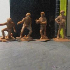 Figuras de Goma y PVC: FIGURAS PECH OLIVER SOLDADOS RUSOS DE ARTILLERIA. Lote 75604478
