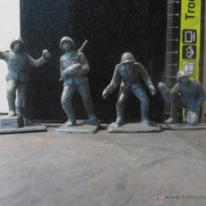 Figuras de Borracha e PVC: FIGURAS PECH SOLDADOS ALEMANES DE ARTILLERIA. Lote 107506139