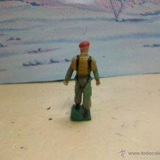 Figuras de Goma y PVC: FIGURA DESFILE DE STARLUX SERIE PARACAIDISTAS - PARACAIDISTA MODELO GOMARSA. Lote 42641226