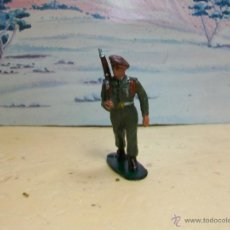 Figuras de Goma y PVC: FIGURA DESFILE DE COFALU STARLUX SERIE PARACAIDISTAS - PARACAIDISTA MODELO GOMARSA. Lote 42641230