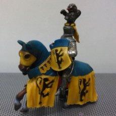 Figuras de Goma y PVC: CABALLERO MEDIEVAL SCHLEICH 70020 TORNEO. Lote 42645635