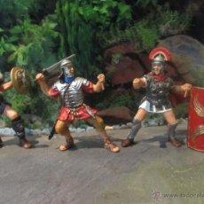 Figuras de Goma y PVC: FIGURAS ORIGINAL PAPO ROMANOS. Lote 42656023