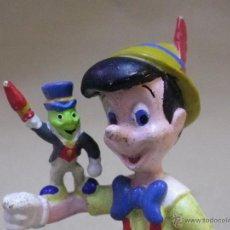 Figuras de Goma y PVC: FIGURA DE PVC, PEPITO GRILLO, PINOCHO, 5,5 CM, APPLAUSE. Lote 42742742
