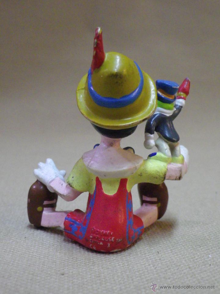 Figuras de Goma y PVC: FIGURA DE PVC, PEPITO GRILLO, PINOCHO, 5,5 CM, APPLAUSE - Foto 3 - 42742742