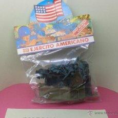 Figuras de Goma y PVC: BLISTER CERRADO EJERCITO AMERICANO MUNDI TOYS PARA MONTAR Y JUGAR ORIGINAL AÑOS 70 80 NUEVO T DUNKIN. Lote 42812405