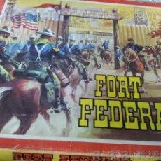 Figuras de Goma y PVC: FORT FEDERAL COMANSI EN CAJA. Lote 42820003