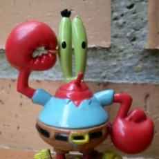 Figuras de Goma y PVC: FIGURA BOB ESPONJA DON CANGREJO VIACOM. Lote 42868712