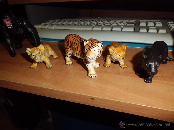 Figuras de Goma y PVC: schleich ,safari. lote de figuras ver fotos - Foto 2 - 213421371