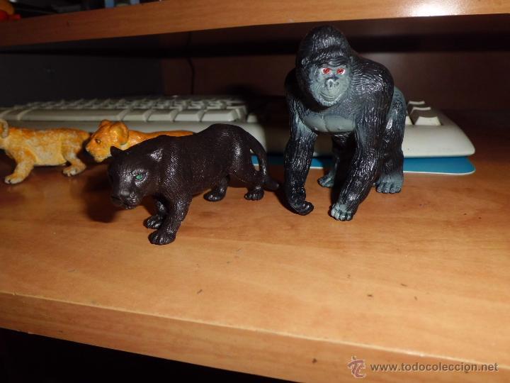 Figuras de Goma y PVC: schleich ,safari. lote de figuras ver fotos - Foto 3 - 213421371