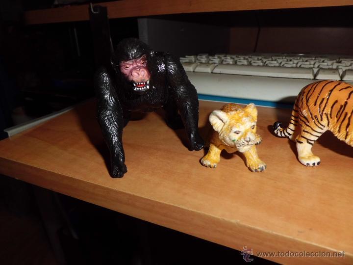 Figuras de Goma y PVC: schleich ,safari. lote de figuras ver fotos - Foto 4 - 213421371