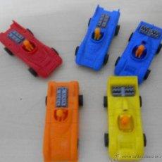 Figuras de Goma y PVC: COCHES DE PLASTICO. Lote 43165484