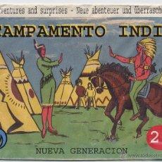 Figuras de Goma y PVC: SOBRE VACIO MONTAPLEX NUEVA GENERACION CAMPAMENTO INDIO --REFHAMIPUDECA2. Lote 43270861