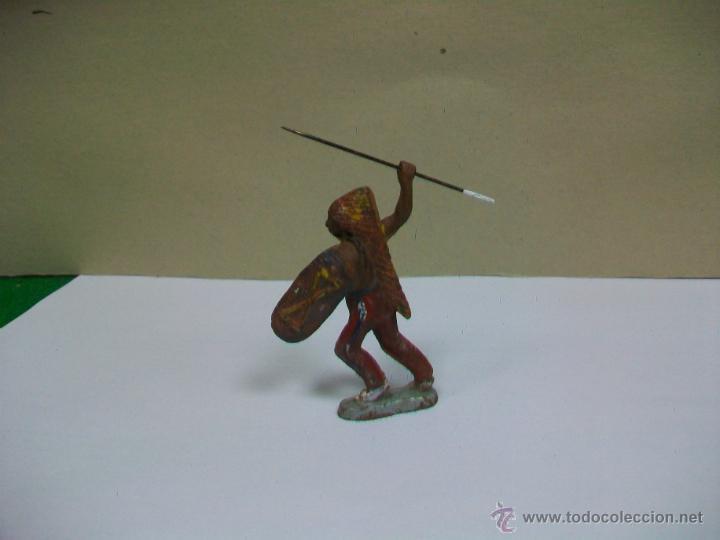 FIGURA INDIO DE GOMA DE PECH HERMANOS - INDIO GOMA PECH TEIXIDOR O DE TEIXIDO (Juguetes - Figuras de Goma y Pvc - Pech)
